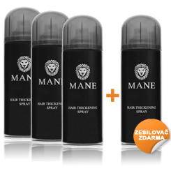 Mane Hair thickener buy 3 get 1 FREE - Mid brown
